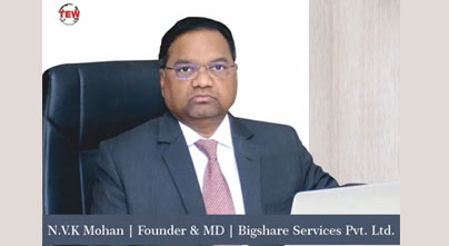 N.V.K Mohan - A committed service specialist in Capital Market